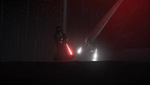 Vader dodges