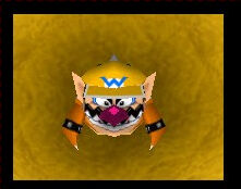 Mario party 2 wario with bowser suit
