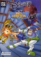 Buzz Lightyear of Star Command game cover