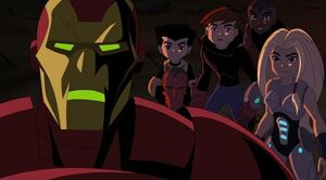 Look guys, it's Iron Man.