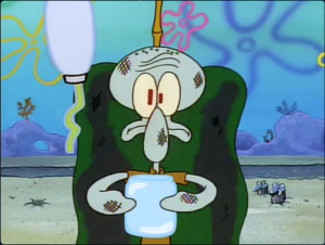 Squidward ow