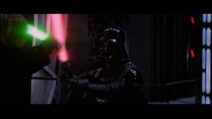 Vader striking