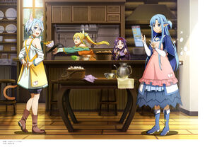Yande.re 572075 asuna (sword art online) konno yuuki leafa sinon sword art online