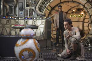 BB-8 Rey & Finn Falcon TFA