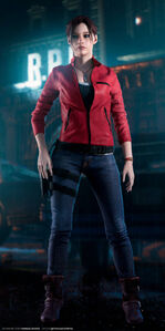 Claire Redfield re2 remake