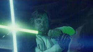 Luke Skywalker vs Kylo Ren All 3 Flashback Scenes (HD)