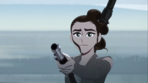 Rey-offers-the-lightsaber-Galaxy-of-Adventures