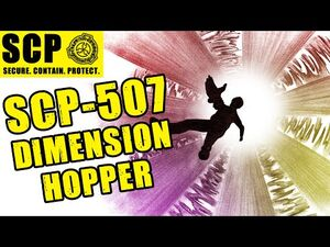 SCP-507 illustrated (Reluctant Dimension Hopper) ft
