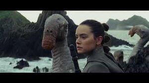 Star Wars The Last Jedi (2017) Luke Skywalker Obtaining Green Milk Full Scene Full HD 1080p