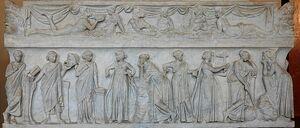 800px-Muses sarcophagus Louvre MR880