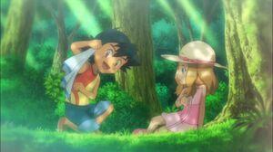 Ash and Serena 2