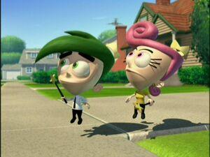 Cosmo and Wanda in Retroville