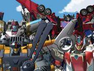 Override, Evac, Vector Prime and Optimus