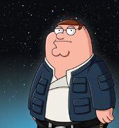 Peter as Han