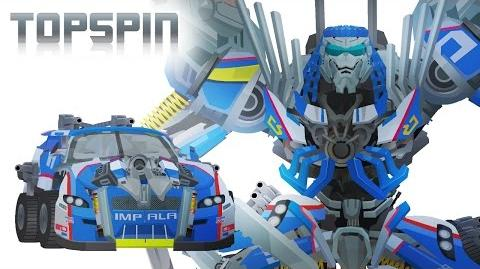 Wreckers TOPSPIN - Short Flash Transformers Series