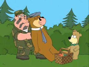 Yogi Bear in Family Guy