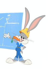 Bugs Bunny in Bugs Builders