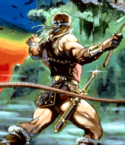Castlevania - Simon Belmont as he appears on the first Castlevania game