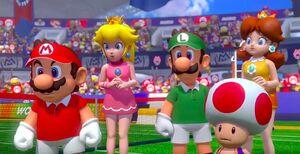 Mario Tennis Aces Opening Cutscene