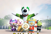 Pororo and friends super heroes