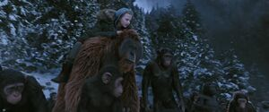 War For The Planet Of The Apes 2017 Screenshot 3687