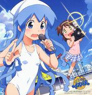 Yande.re 165511 ikamusume nagatsuki sanae shinryaku! ikamusume swimsuits