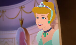 Cinderella's warm smile in Cinderella II
