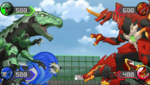 Drago, Gillator, Hydorous, and Trox