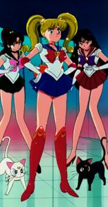 Sailor Mina Moon herself