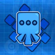 Blue cube icon TSR
