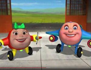 PBS Kids's Jay Jay The Jet Plane Jay Jay and Lina