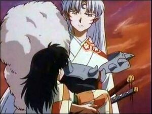 Rin and Sesshomaru
