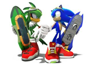 Sonic riders conceptart wXTey