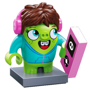 Courtney (The Angry Birds Movie) Edukie Minifigure render