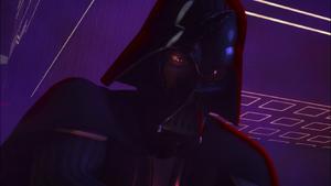 Darth Vader flare