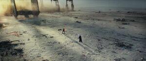Kylo confronts Luke 2