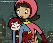 Wordgirl and her Monkey Huggy 435435