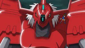 BlitzGreymon and Taichi