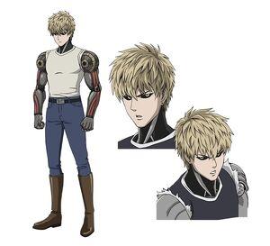 One-Punch Man Genos1