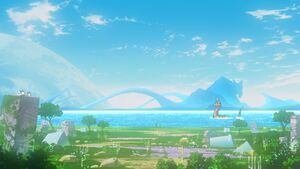 Taichi and Agumon meet again at Digital World
