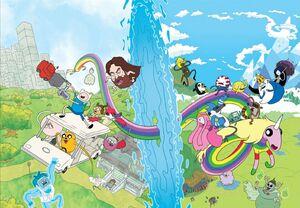 Adventure Time X Regular Show 4