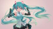 Yande.re 616884 hatsune miku headphones pantsu pinakes skirt lift vocaloid wallpaper