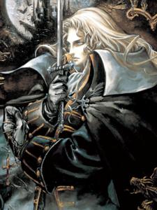 Castlevania - Alucard's Portrait as seen in Castlevania Symphony of the Night