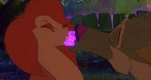 Charlie & Sasha First Kiss (2)