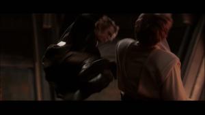 Darth Vader dropkicks