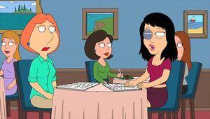 Lois and Brenda Quagmire