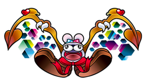 Marx as a villain in Kirby Super Star Milky Way Wishes