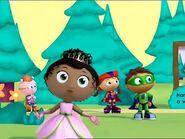Super why princess pea wonder red alpha pig 43553