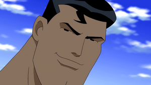 Superman Smiling
