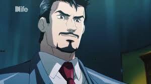 Tony Stark anime